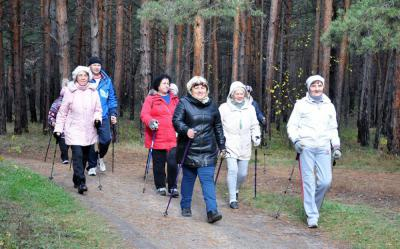 Прогулки по лесу, хотьба